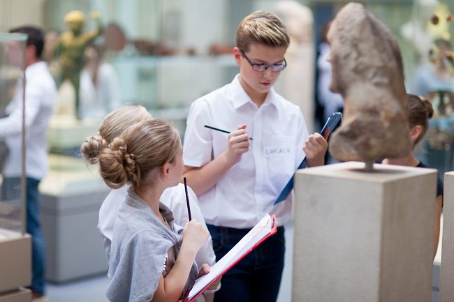 2. What have you learnt from your experience of working with The British Museum/Talking Objects Collective project? How might this learning change the way you work with young people?
