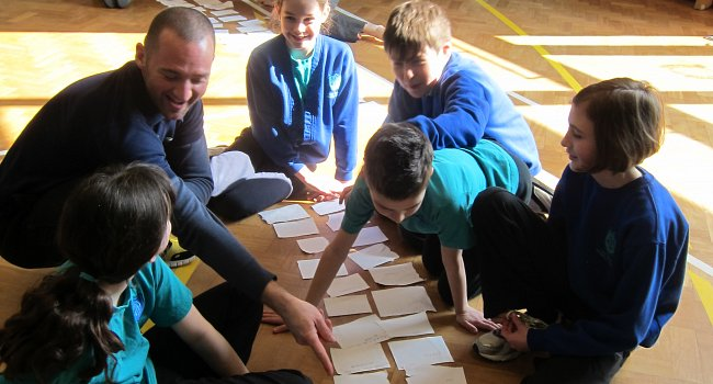 Paul Hamlyn Foundation project: using dance to teach history in primary schools