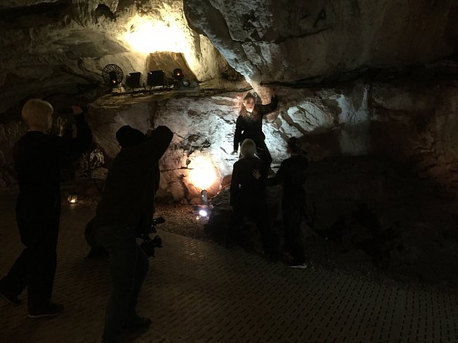 Dancing in Caves - Discoveries from R&D at Kents Cavern, January 2017